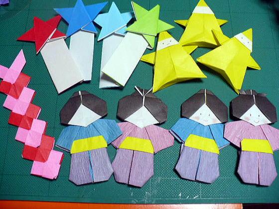 ハート 折り紙 : 七夕の折り紙 折り方 : divulgando.net
