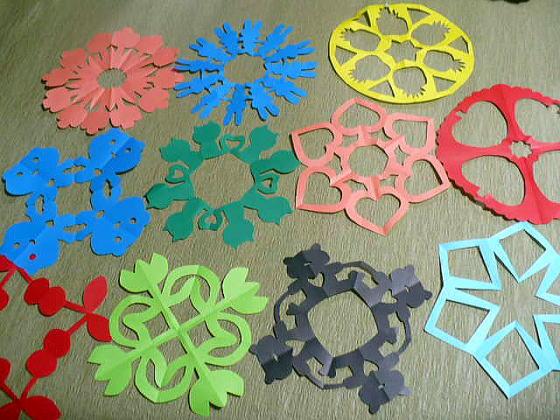 ハート 折り紙 折り紙切り絵花簡単 : divulgando.net
