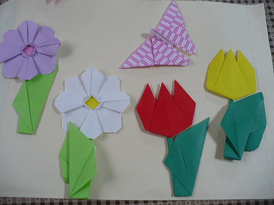 クリスマス 折り紙 折り紙 お花 : hagifood.com