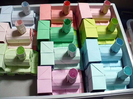簡単 折り紙 折り紙 インテリア 折り方 : yukinokaze.blog.so-net.ne.jp