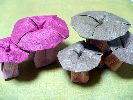 ハート 折り紙 折り紙折り方花立体 : divulgando.net