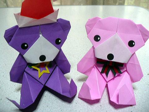 ハート 折り紙 折り紙くま折り方簡単 : yukinokaze.blog.so-net.ne.jp