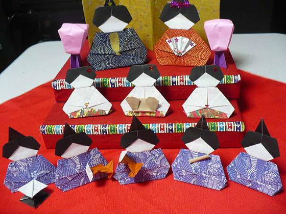 簡単 折り紙 お雛様 折り紙 折り方 簡単 : divulgando.net