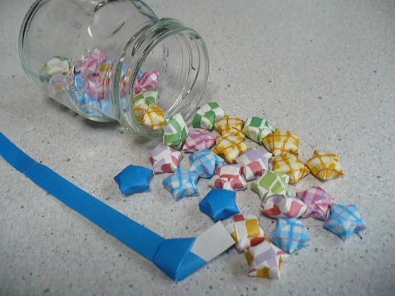 ハート 折り紙 星 立体 折り紙 : divulgando.net