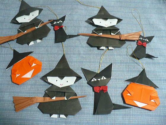 すべての折り紙 ハロウィン 飾り 折り紙 : ハロウィン とってもかわいい ...