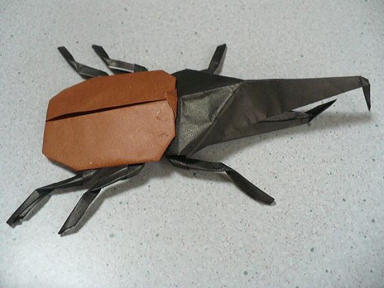 簡単 折り紙 ヘラクレスオオカブト 折り紙 : divulgando.net