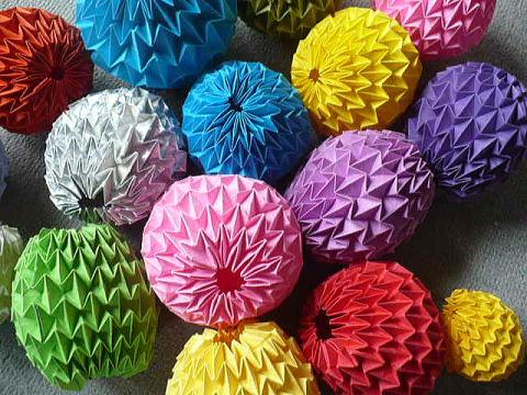 折り紙の マジックボール 折り紙 : yukinokaze.blog.so-net.ne.jp